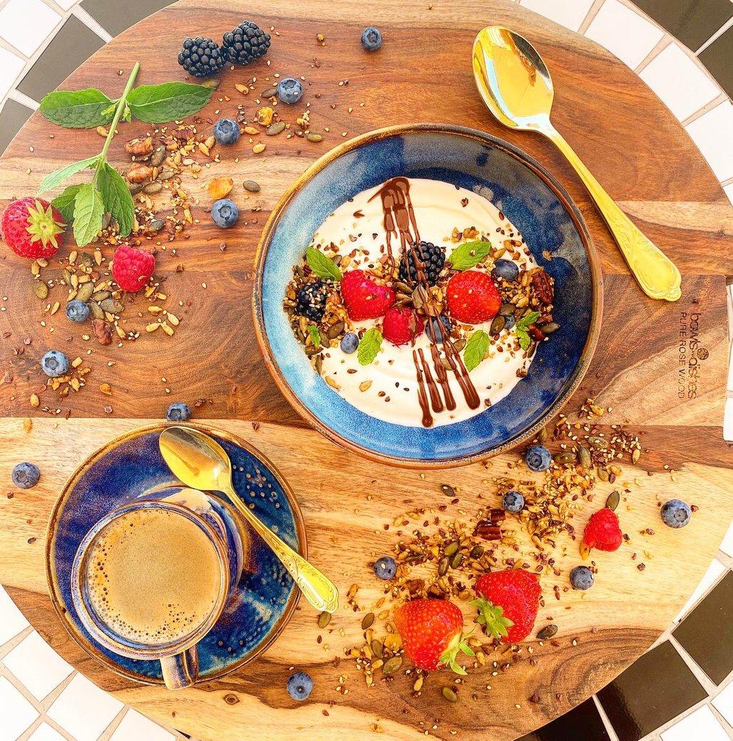 MACADO yoghurt met granola
