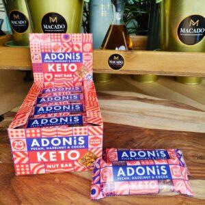 KETO Adonis Nut Bar Pecan, Hazelnut & Cocoa (35g)