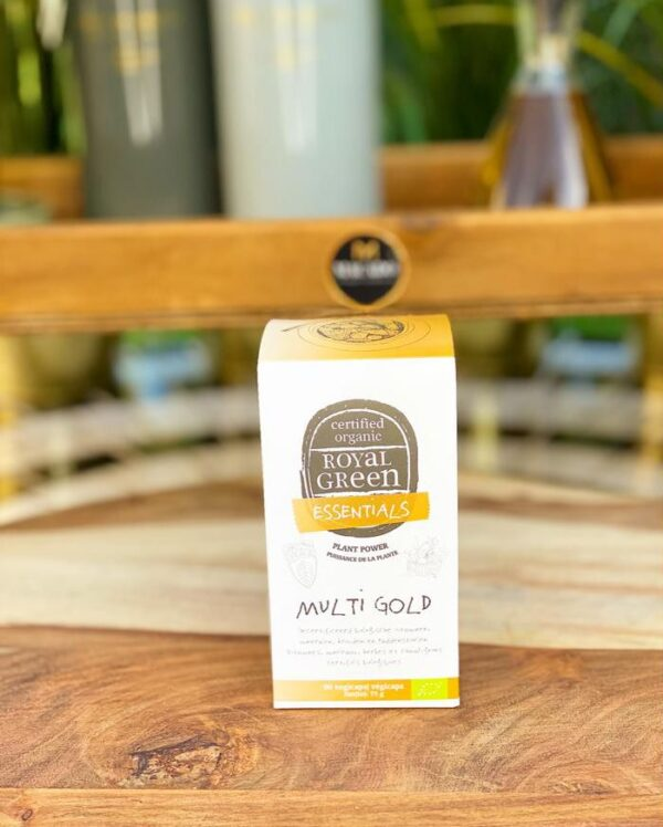 MULTI GOLD Vitamine Complex BIO (90vcaps)
