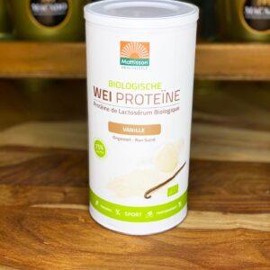 BIO Wei Proteïne Poeder Vanille (450g)